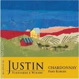 JUSTIN VINEYARDS PASO ROBLES CHARDONNAY 2015