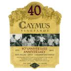 SORRY WE ARE SOLD OUT ~ CAYMUS 40TH ANNIVERSARY NAPA VALLEY CABERNET SAUVIGNON 2012