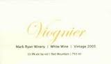 MARK RYAN WINERY WASHINGTON VIOGNIER 2013