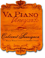 "VA PIANO VINEYARDS DUBRUL ""BLACK LABEL"" CABERNET SAUVIGNON 2015"