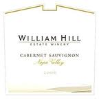 WILLIAM HILL NAPA VALLEY CABERNET SAUVIGNON 2013
