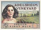 ADELSHEIM WILLAMETTE VALLEY PINOT NOIR 2011