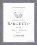 BARGETTO WINERY LODI OLD VINE ZINFANDEL 2011