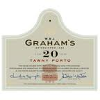 W AND J GRAHAMS 20 YEAR OLD TAWNY PORT