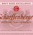 SCHARFFENBERGER CELLARS BRUT ROSE MEDOCINO