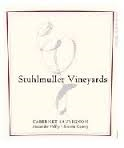 STUHLMULLER VINEYARDS ESTATE ALEXANDER CABERNET SAUVIGNON 2014