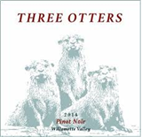 THREE OTTERS WILLAMETTE PINOT NOIR 2014