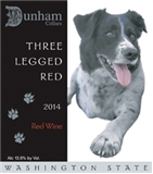 DUNHAM CELLARS THREE LEGGED RED WASHINGTON 2016