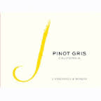 J VINEYARDS AND WINERY PINOT GRIS 2013