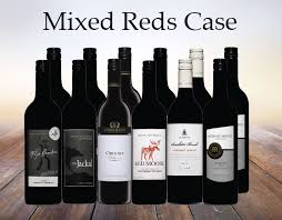 Mixed Case Red Wine