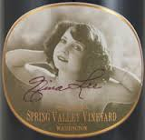 SPRING VALLEY VINEYARD NINA LEE WASHINGTON SYRAH 2013