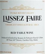 LAISSEZ FAIRE RED TABLE SNAKE RIVER